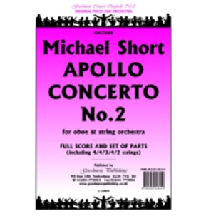 Michael Short Apollo Concerto No.2 - Oboe & String Orchestra