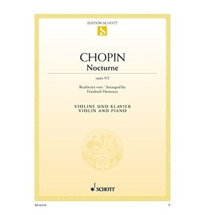 Chopin Nocturne 2 Opus 9 - Violin and Piano