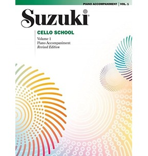 Suzuki Cello School Piano Accompaniment Volume 1