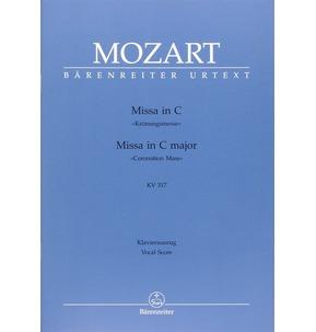 Mozart Missa in C Major Vocal Score