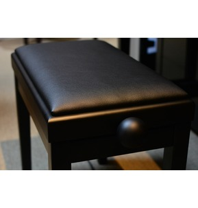 Kinsman KPB03 Adjustable Satin Black Stool