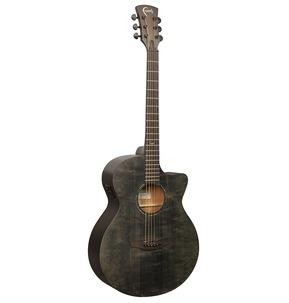 Faith FKV Naked Venus Cutaway Electro Acoustic Guitar - Black incl Gig Bag