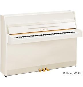 Yamaha B1 Upright Piano White Polyester Free UK Ground Floor Delivery