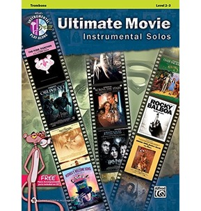 Ultimate Movie Instrumental Solos Trombone with CD