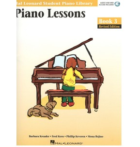 Hal Leonard Piano Lessons - Book 3 - Book Only