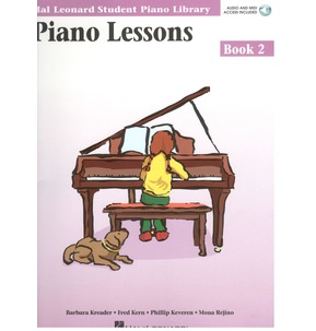 Hal Leonard Student Piano Library: Piano Lessons Book 2 Audio and Midi Download