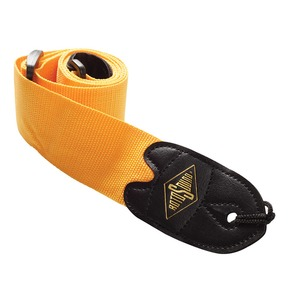 Rotosound STR6 High Quality Strap With Leather Ends - Orange