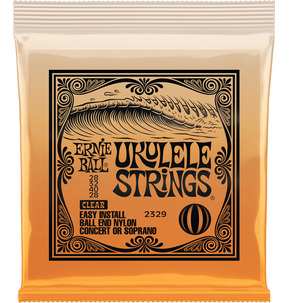 Ernie Ball Nylon Ball End Ukulele Strings Soprano/Concert