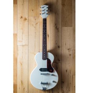 Gordon Smith GS1 NOCUT, Vintage White & Gig Bag