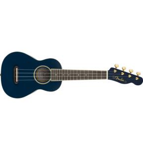 Fender Grace VanderWaal Moonlight Soprano Ukulele, Navy, Walnut