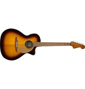 Fender California Newporter Player Sunburst Electro Acoustic Guitar