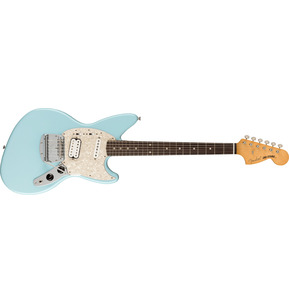 Fender Artist Kurt Cobain Jag-Stang Sonic Blue Electric Guitar & Case