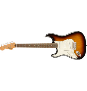 Fender Squier Classic Vibe '60s Stratocaster Left-Handed, 3-Colour Sunburst, Laurel