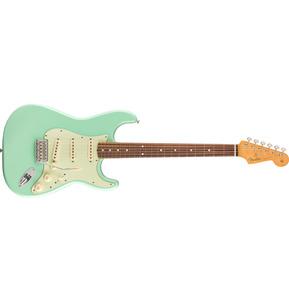 Fender Vintera '60s Stratocaster Surf Green Electric Guitar & Case