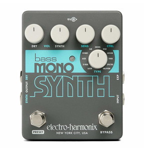 Electro Harmonix Bass Mono Synth Pedal B-Stock
