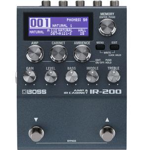 Boss IR-200 Amp & Cabinet Impulse Response Pedal
