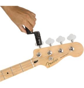 Fender TurboTune String Winder And Bridge Pin Puller, Black