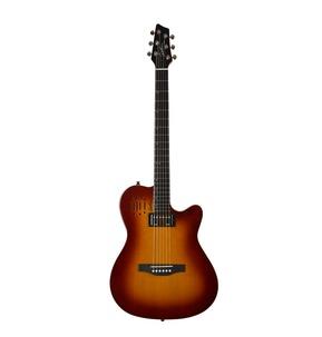 Godin A6 ULTRA Cognac Burst HG Electro Acoustic Guitar & Case