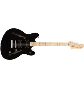Fender Squier Affinity Series Starcaster, Black, Maple