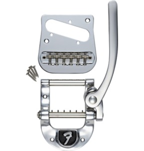 Fender Bigsby B5 Telecaster Modification Vibrato Kit With 'F' Stamp, Chrome