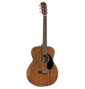 Fender CC-60S Mahogany Concert Acoustic Guitar, Natural