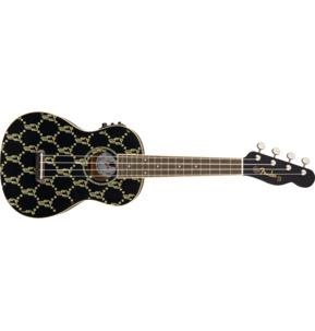 Fender Billie Eilish Signature Ukulele, Black, Walnut