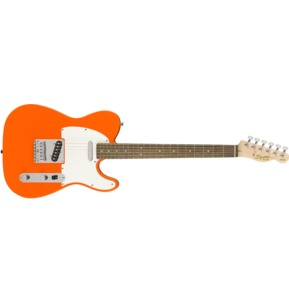 Fender Squier Affinity Series Telecaster, Competition Orange, Laurel