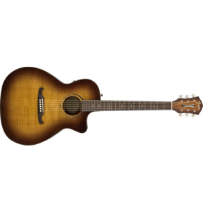 Fender Alternative FA-345CE Auditorium 3-Tone Tea Burst Electro Acoustic Guitar