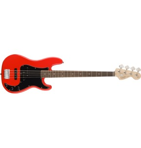 Fender Squier Affinity Series Precision Bass PJ, Race Red, Laurel