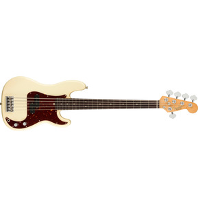Fender American Professional II Precision Bass V, Olympic White, Rosewood