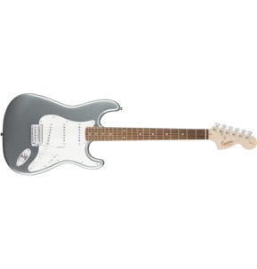 Fender Squier Affinity Series Stratocaster, Slick Silver, Laurel
