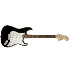 Fender Squier Affinity Series Stratocaster, Black, Laurel