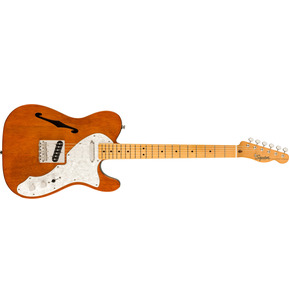 Fender Squier Classic Vibe '60s Telecaster Thinline Natural Electric Guitar