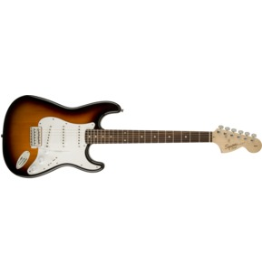 Fender Squier Affinity Series Stratocaster, Brown Sunburst, Laurel