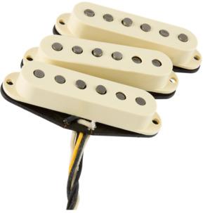 Fender Eric Johnson Stratocaster Pickups, White, Set Of 3
