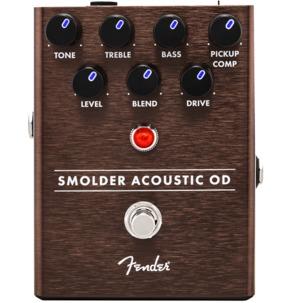 Fender Smolder Acoustic Overdrive Pedal