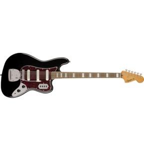 Fender Squier Classic Vibe Bass VI, Black, Laurel
