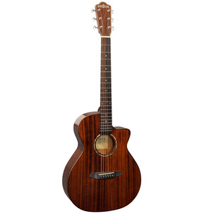 Rathbone No.1 R1MC Mahogany Baby Concert Electro Acoustic Travel Guitar