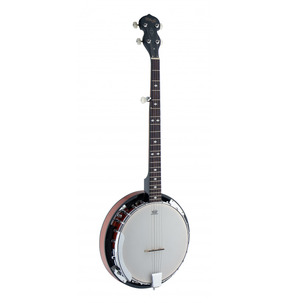 Stagg BJW24DL 5 String G Banjo with Resonator