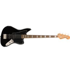 Fender Squier Classic Vibe Jaguar Bass, Black, Laurel