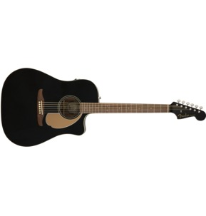 Fender Redondo Player Electro Acoustic Guitar, Jetty Black