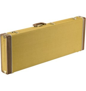 Fender Classic Series Wood Guitar Case - Strat/Tele, Tweed