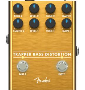 Fender Trapper Bass Distortion Pedal