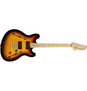 Fender Squier Affinity Series Starcaster, 3-Colour Sunburst, Maple