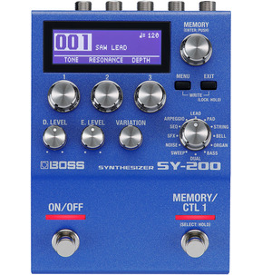 Boss SY-200 Synthesizer Pedal