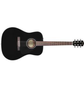 Fender CD-60 Dread V3 DS, Black, Walnut
