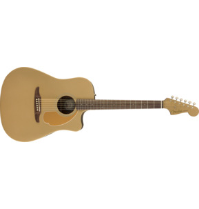 Fender Redondo Player Electro Acoustic Guitar, Bronze Satin, Walnut