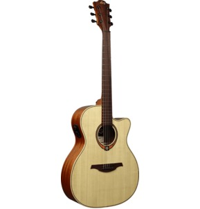 Lag Tramontane 88 T88ACE Auditorium Cutaway Electro Acoustic Guitar