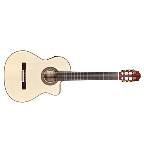 Cordoba Espana 55FCE Natural Electro Classical Nylon Guitar & Case
