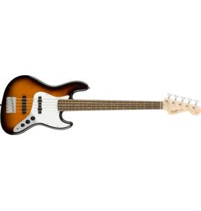 Fender Squier Affinity Series Jazz Bass V, Brown Sunburst, Laurel